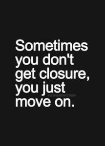 Relationship Closure -Getting Closure From Past Relationships