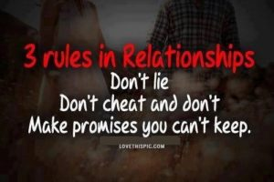 Breaking Relationship Rules