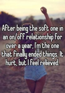 On-Off Relationships