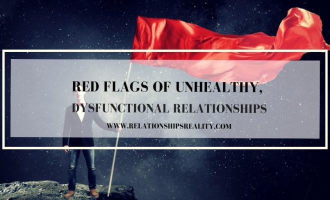red flags in a long distance relationship